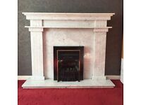 Genuine Marble Fireplace