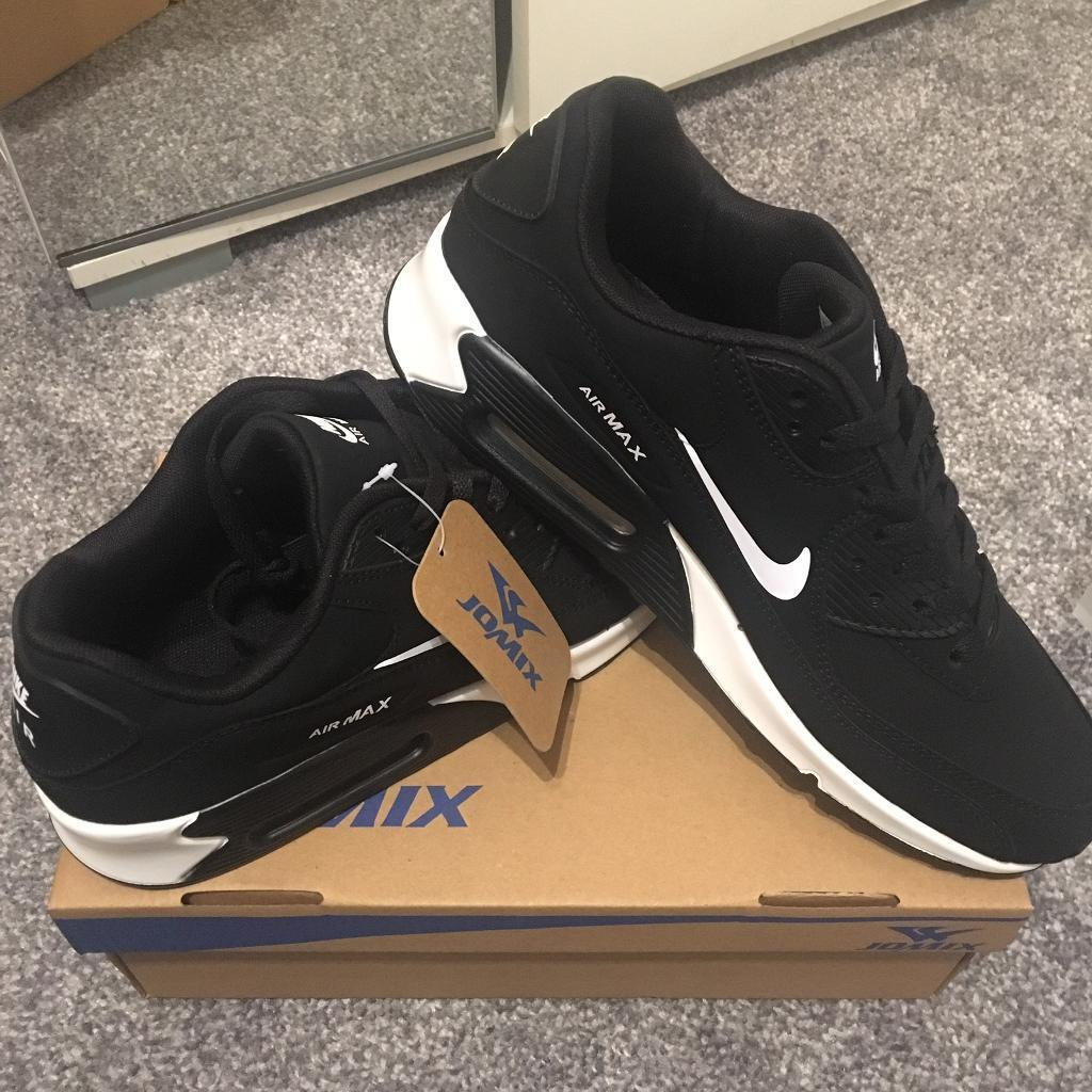 SIZE 7 BLACK BRAND NEW NIKE AIRMAX 90 MENS AIR MAX BOXED TRAINERS (NOT) tn 110s 95 110 adidas 97   in Erdington, West Midlands   Gumtree