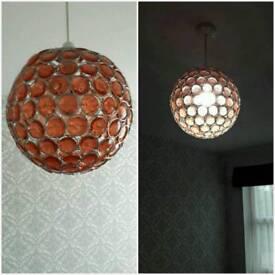 Pendant ceiling light shade