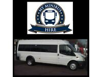 MINIBUSES FOR HIRE WITH DRIVER