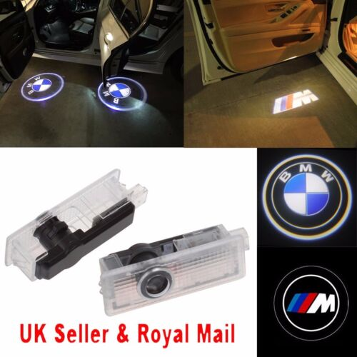 Car Parts - BMW CREE LED Car Door Light Projector Shadow Puddle Courtesy Laser LOGO Light UK