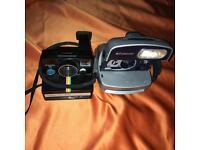 Polaroid cameras and film