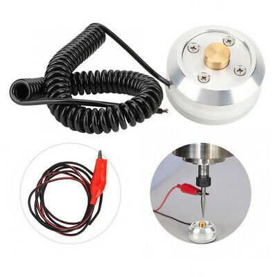 Cnc Tool Setting Touch Plate Probe Engraving Machine Accessories Silver