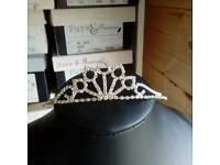 Wedding tiara. New