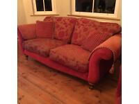 2/3 seater sofa and matching arm chair