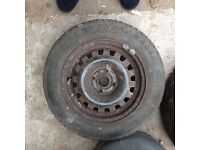 Spare wheel For Mark 3 Astra