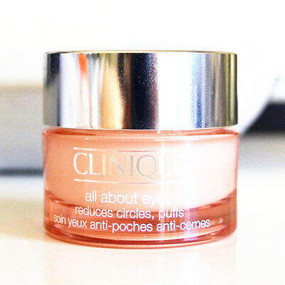 New Clinique All About Eyes Reduces Circles Puffs 0 5 Oz 15 Ml Full Size