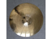 "20"" Stagg SH Medium Ride cymbal - excellent condition"