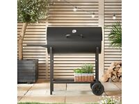 Large BBQ, with charcoal and accessories
