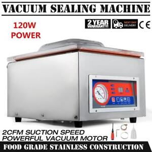 "120W 22"" Commercial Vacuum Sealer Food Sealing Machine Bar Hydraulic 110V - BRAND NEW - FREE SHIPPING"