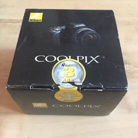 Nikon Cool Pix L100 10.0MP Digital Camera Black As New With Box & CD Great Value!