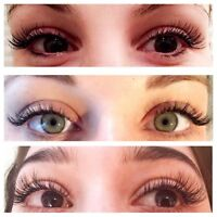 ♡ Eyelash Extensions ♡ $70 Unlimited Count
