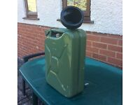 20ltr Jerry Can unused with funnel