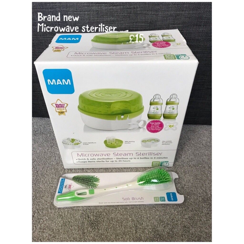 Brand new mam steriliser