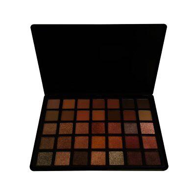 Nabi 35 Color Eyeshadow Palette Rome Smokey Eye Matte & Shimmer Neutral Tones