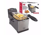 Quest Stainless Steel Deep Fat Fryer for sale