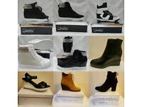 Inner wedge trainers/boots