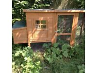 Chicken coop and attached run. £120 or reasonable offer