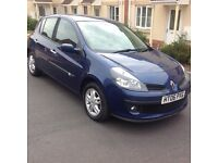 2006-Renault Clio 1.5 dci £30 a year tax new shape with history