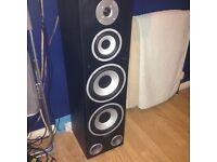 2 TIBO tower speakers