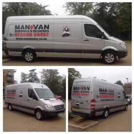 Man and Van Removals clearance and Deliveries nationwide and Europe removals Fulham-Battersea