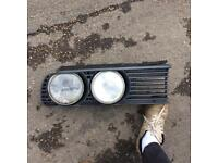 BMW e30 lights and grill