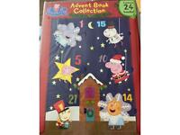 Peppa pig 24 x books advent calender