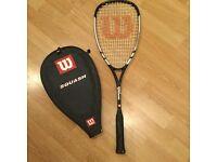 Wilson Hammer 180 full size squash racquet