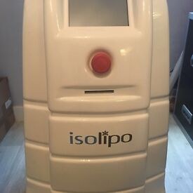 9 month old Isolipo fat freezing machine, dual heads. Barely used, under warranty