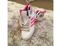 Adidas trainers size 4 women's