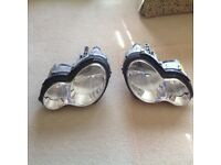 Complete set of front headlamp kit Mercedes C220