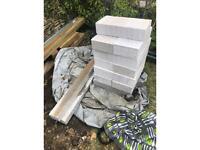 Lightweight blocks and lintels