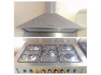 Range Gas Cooker And Some Cooker Hood - LOCAL FREE DELIVERY