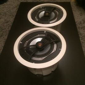 Monitor Audio In ceiling speakers / great outdoor speaker project!