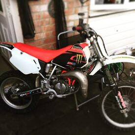 Honda CR80 bored to 100cc