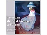Portrait Painting Commissions