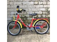 PUKY Z 8 red unisex kids German bike age 4-6