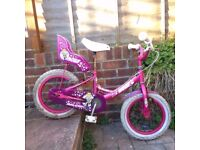 Raleigh Molly Bike With free new Light Set, Lock and Helmet