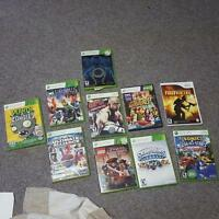 9 xbox 360 video games for sale