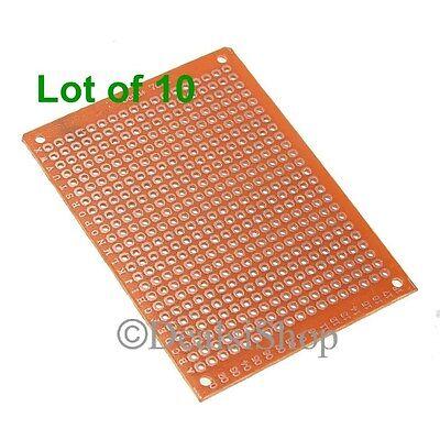 10pcs 5x7 Cm Diy Prototype Paper Pcb Universal Circuit Board Breadboard Usa New