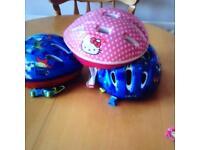 Child bike helmets