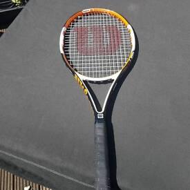 Wilson ncode tennis racket