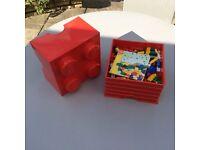 Lego City Box fill with Lego