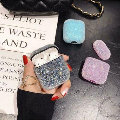 For Apple AirPods Case Protect Silicone Cover Skin AirPod Earphone Cases Glitter
