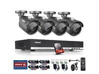 ANNKE HD 4CH CCTV Day/Night Indoor/Outdoor Camera System BRAND NEW