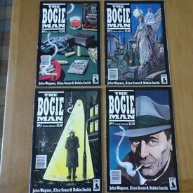 The Bogie Man Issues 1-4. Excellent condition. Ideal collector