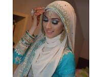 Asian bridal offer and party hair and makeup
