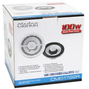 "Clarion Marine Audio Systems - CMG1722R 7"" 2-Way Marine Speaker (Pair)"