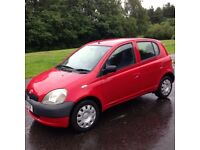 Toyota Yaris 1.0i GS , 2001 , --- 9 Months MOT ---, Immaculate ,similar2 ,micra fiesta polo clio