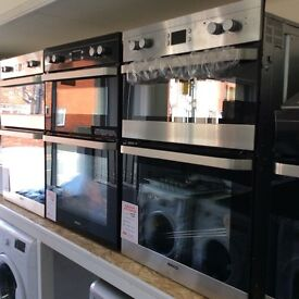 Built in electric oven new/graded 12 mths gtee